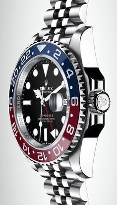 The new Rolex GMT-Master II is equipped with the new-generation calibre 3285, at the forefront of watchmaking technology.