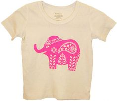 Coolest animal prints this year for little kiddos - elephants and giraffes