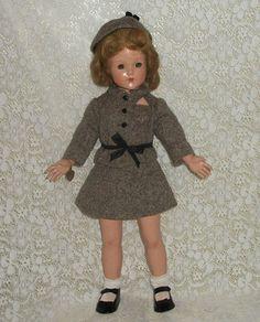 "Anne Shirley Effanbee Composition 20"" Beauty Human Hair WIG Marked 1940'S ERA | eBay"