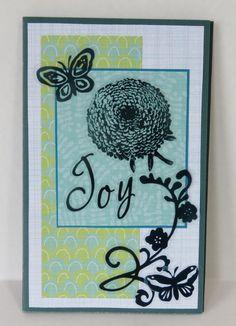 Joy Butterflies And Flowers Christian Journal by stufffromtrees on Etsy