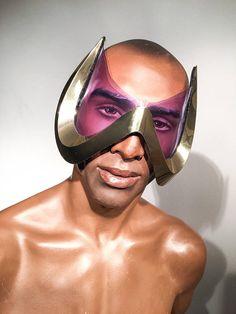 Diabolo's shades W shaped goggles batman demon shades