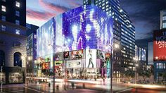 led mesh facade - Google Search