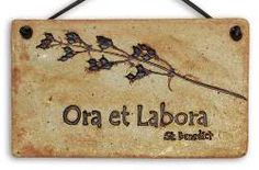 ora et labora 'pray and work' St. Be Thou My Vision, Loyalty Rewards Program, Home Quotes And Sayings, Christian Art, Oras, Good Thoughts, Quotable Quotes, Cross Stitch Patterns, I Am Awesome