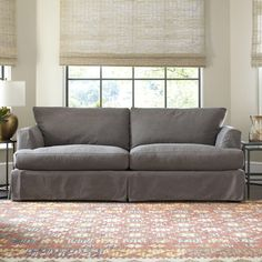Clausen Sofa.. wish it came without a skirt