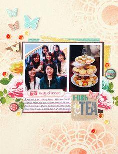 High Tea by qingmei at Studio Calico