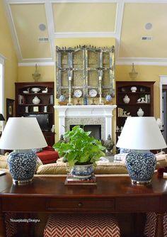 Ralph Lauren Lamps/Great Room - Housepitality Designs