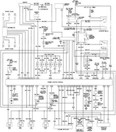AutoZone Repair Guide for your Chassis Electrical Wiring Diagrams Wiring Diagrams Types Of Electrical Wiring, Electrical Wiring Diagram, Toyota Pickup 4x4, Toyota Trucks, Toyota Hilux, Toyota Corolla, Honda Civic 2006, Trailer Wiring Diagram, Car Ecu