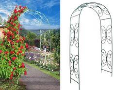 Arcade de grădină pentru flori - Tipuri de opțiuni, foto. Cum sa faci un arc cu mâinile lor?
