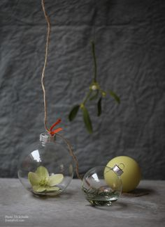 how to make floral christmas ornaments by sania pell