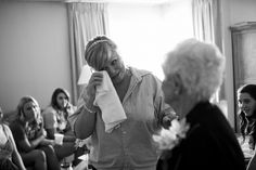 Hotel Albuquerque Wedding Photography Bride Crying