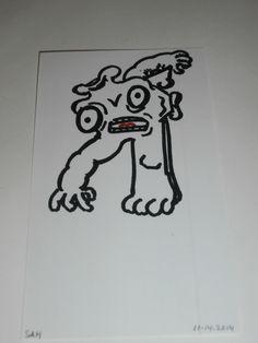 1-18-2015 Mutant creature