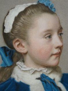Pastel on velum. Jean-Etienne Liotard, Stunning tone and texture. .........I love fine pastel work............