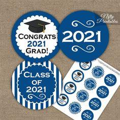 Graduation Cupcake Toppers, Graduation Cupcakes, Graduation Decorations, Graduation Ideas, Graduation Celebration, Graduation Cards, Graduation Cap Tassel, D N Angel, 8th Grade Graduation