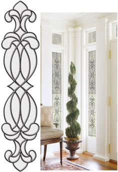 Hanover Clear Stained Glass Wall Sticker - Wall Sticker Outlet Transfrom your windows Stained Glass Window Clings, Stained Glass Mirror, Faux Stained Glass, Glass Wall Art, Stained Glass Patterns, Leaded Glass, Stained Glass Windows, Mosaic Glass, Glass Paint