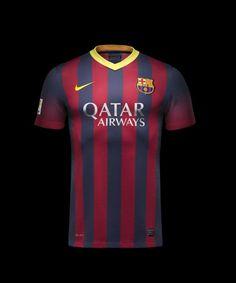 Nueva camiseta del Barça Soccer Outfits b82dbcd0320