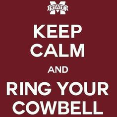 More cowbell, this is for you Mollie McGill!!
