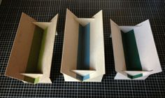 how to make a collapsible punching trough by Sarah Bryant of Big Jump Press