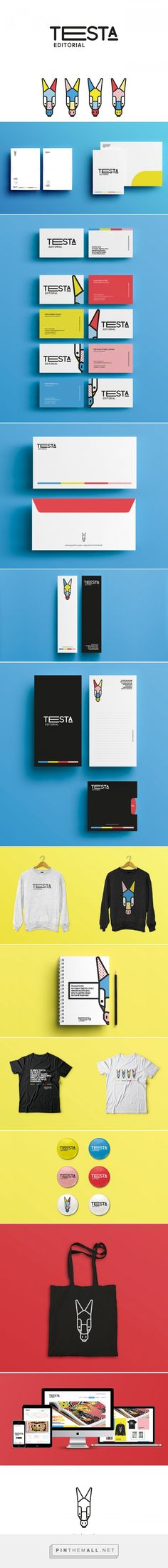 Testa Editorial Branding by Alvaro Jaimes | Fivestar Branding Agency – Design and Branding Agency & Curated Inspiration Gallery