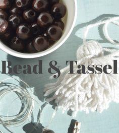 The Easiest Bead & Tassel Craft