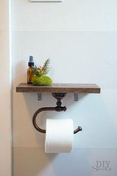 suporte para papel higiênico diferente