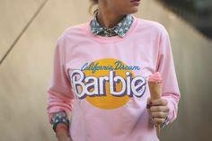 super cute pink sweatshirt