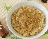 Mléčná rýže se skořicí
