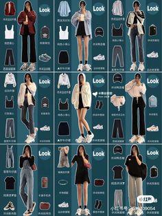 Korean Girl Fashion, Korean Fashion Trends, Korean Street Fashion, Ulzzang Fashion, Korea Fashion, Ghana Fashion, 80s Fashion, Womens Fashion, Spring Fashion