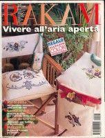 Журнал: Rakam /Vivere all`aria aperta Cross Stitch Magazines, Book Crafts, Craft Books, Dollhouse Miniatures, Needlepoint, Needlework, Pin Up, Album, Embroidery
