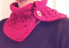 Hey, I found this really awesome Etsy listing at https://www.etsy.com/listing/176360654/red-hand-knitted-cowl-knit-scarf