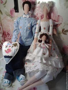 Comprar Encanto familia Tildnaya) - pareja, familia, muñeca hecha a mano