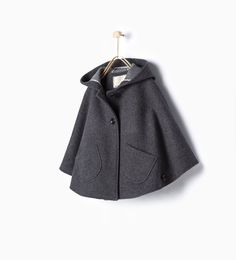Cape with pockets-View all-Coats-Girl (3-14 years)-KIDS | ZARA United Kingdom