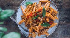 Beanit-smetanapasta | Reseptit | Beanit Salvia, Carrots, Pasta, Vegetables, Ethnic Recipes, Food, Veggies, Essen, Vegetable Recipes