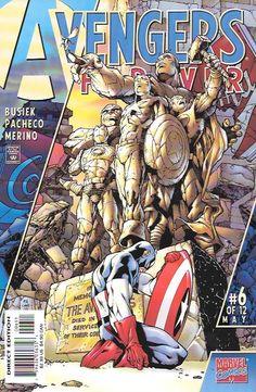 Avengers Forever # 6 Marvel Comics