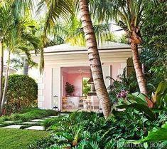 Palm Beach Chic Backyards - The Glam Pad