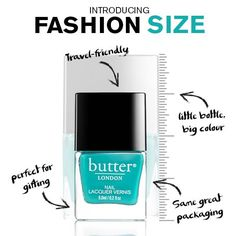 butter LONDON Fashion Size Nail Lacquers - Nail Candy 101