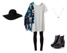 """""""Untitled #10"""" by bring-the-fire ❤ liked on Polyvore featuring AG Adriano Goldschmied, Monki and Kenneth Cole"""