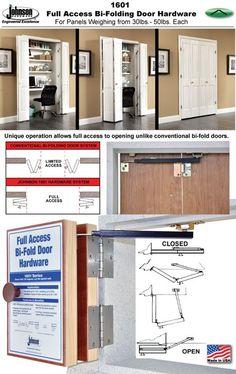 4 Panel \'Full Access\' Bi-Folding Door Installation, Johnson Hardware ...