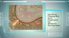 2014 EmbroidaBlock of the Month, Jacobean Journey