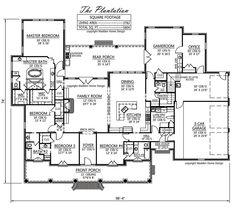 u shaped house plans Print this floor plan Print all floor plans