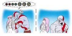 Kratos & Saori Athena