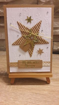 Simple Christmas Cards, Christmas Card Crafts, Homemade Christmas Cards, Handmade Christmas, Paper Quilling Cards, Star Cards, Birthday Cards For Friends, Winter Cards, Halloween Cards