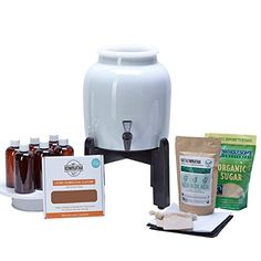 Home Brewing Fermenter: Makes Kombucha Tea On Tap. Continuous Kombucha Home Brew Kit Makes 127 Bottles Of Great Tasting Kombucha Tea Right From Home Every 28 Days! Everything You Need To Get Brewing. 180 Day Guarantee. ** You can get additional details at the image link.