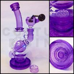 Glass Mini Rig | Mothership Glass Purple Rain Mini Ball Rig — at Culture Rising Port ...