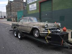 Low Cost Chief: 1956 Pontiac Star Chief - http://barnfinds.com/low-cost-chief-1956-pontiac-star-chief/
