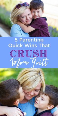 Ever wonder if there's such a thing as quick wins for parents? Well, there are! These 5 are a great start! www.themidlifemamas.com