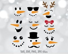 The Lonely Walk Coloring Page Merry Christmas, Christmas Snowman, Christmas Ornaments, Snowman Kit, Snowman Crafts, Snowman Mugs, Snowmen, Silhouette Designer Edition, Face Template