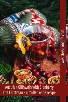 Mulled Wine Spices, Spiced Wine, Blackberry Recipes, Cranberry Recipes, Winter Drinks, Holiday Drinks, Punch Recipes, Drink Recipes, Mulled Wine Recipe Easy