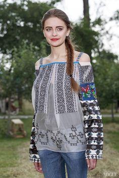 Оксана Караванская показала коллекцию вышиванок на Alfa Jazz Fest  75118686ec053