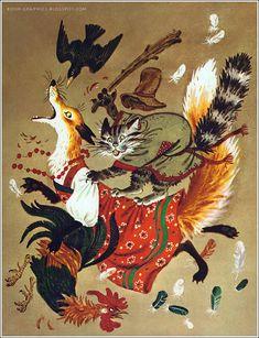 "N. Trepenok  ""Russian Folk Tales"""