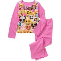 Emoji Girls' Licensed 2-Pc Set, Size: 14/16, Pink
